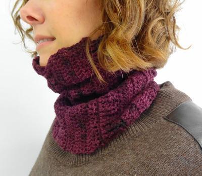 Yarn Kit - Crochet Pattern - Cowl