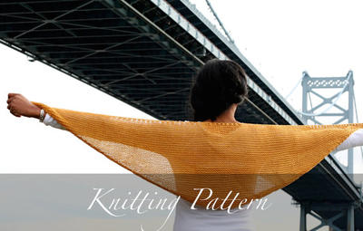 Knitting Pattern: The Aventine Market Shawl