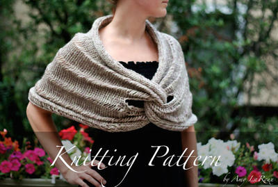 Knitting Pattern: The Claddagh Wrap