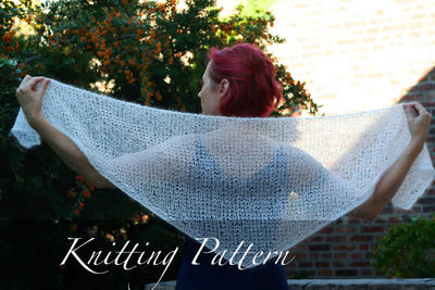 Knitting Pattern: The Ghost Shawl
