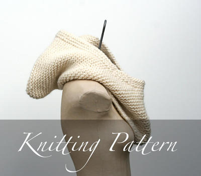 Knitting Pattern: The Inga Hood
