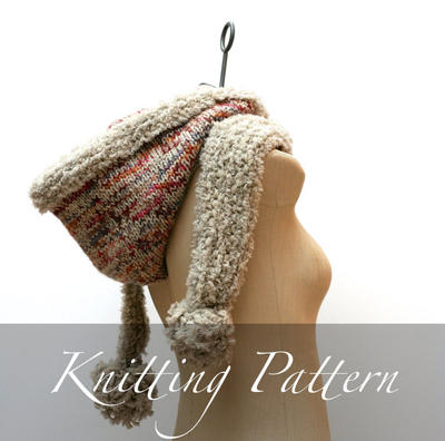 Knitting Pattern: The Vemdalen Hood