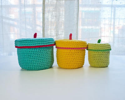 3 Crochet Boxes (Quick and Easy)