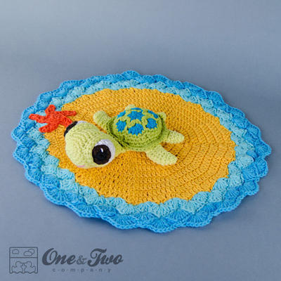 Bob the Turtle Lovely / Security Blanket