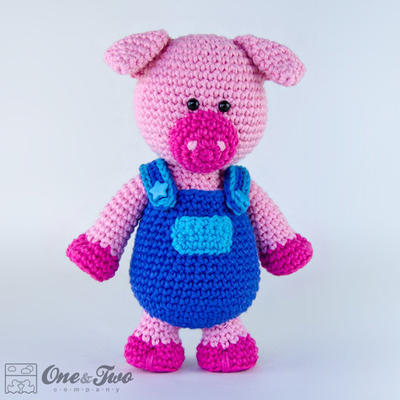 Eddie the Piggy Amigurumi