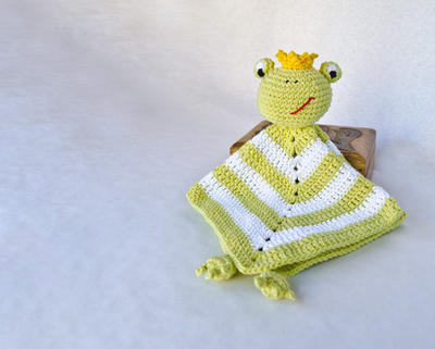 Frog Prince Lovely / Security Blanket