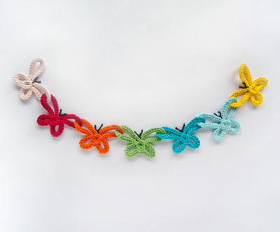 Garland of Colorful Bows