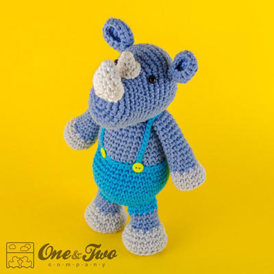 Max the Rhino Amigurumi