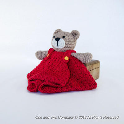 Teddy Bear Lovely / Security Blanket