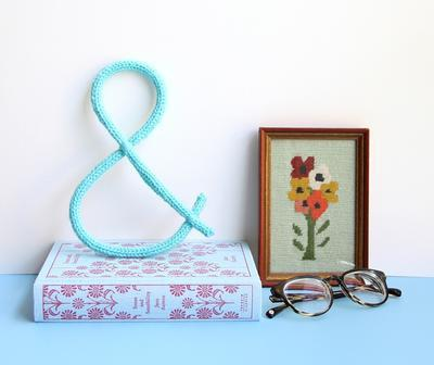 Knit Ampersand Wall Decoration