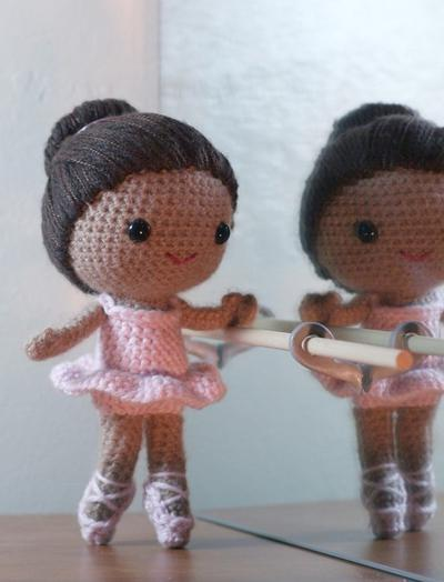 Brisa the ballerina amigurumi doll
