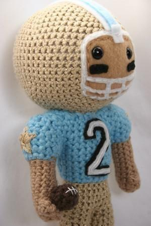 Football Star amigurumi football player