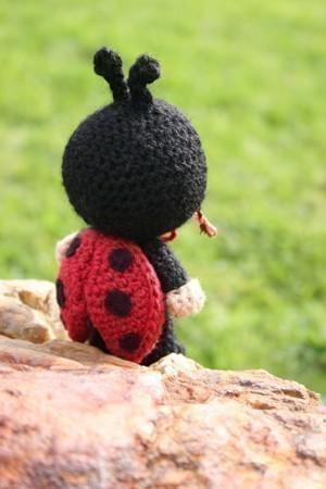 LadyBug amigurumi doll