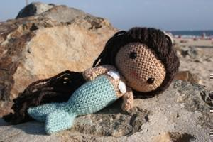 Mere the little mermaid amigurumi doll