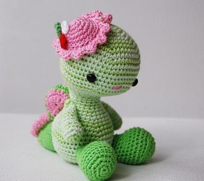 Amigurumi Miss Dragon