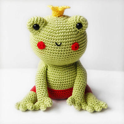 Amigurumi Pattern - Fred the Frog