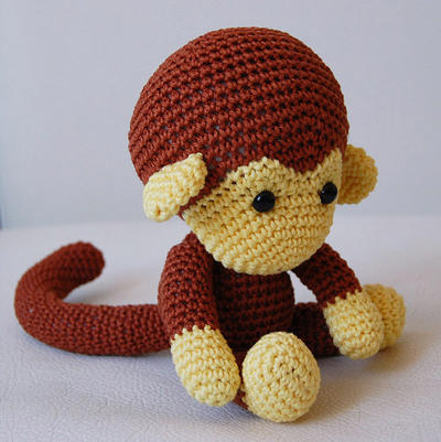 Amigurumi Pattern - Johnny the Monkey