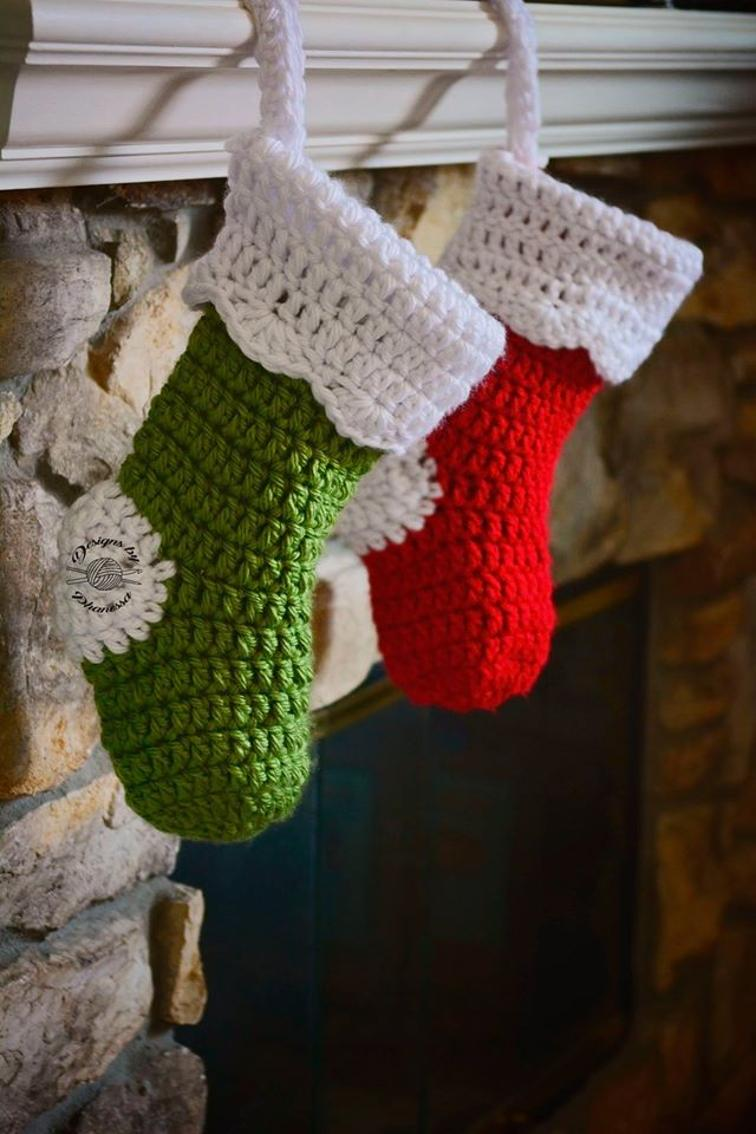 Crochet Chunky Chrsitmas Stocking