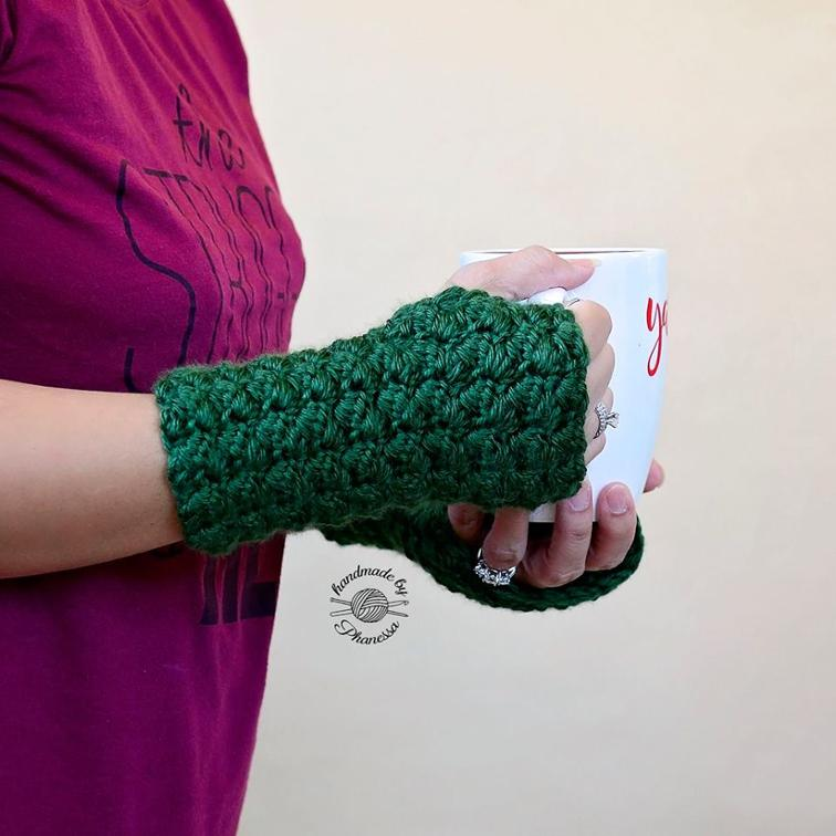 Lily Fingerless Gloves