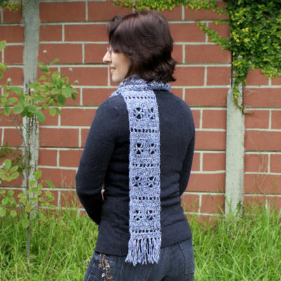 Frosty Windows Scarf