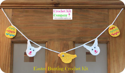 Easter Bunting Crochet Kit