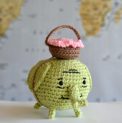 Amigurumi Crochet Adventure Time Tree Trunks Elephant Pattern