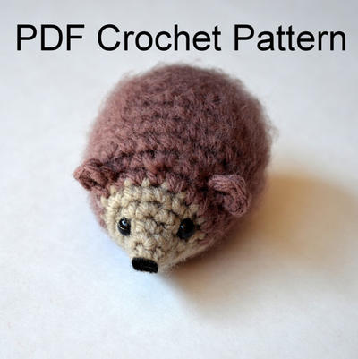 Amigurumi Crochet Mr. Hedgehog Pattern