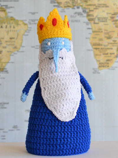 Crochet Pattern PDF Ice King and Nice King