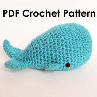 Little Sperm Whale Amigurumi Crochet Pattern
