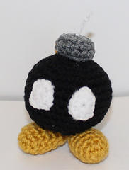 Mini Bob-omb Gamer Friend