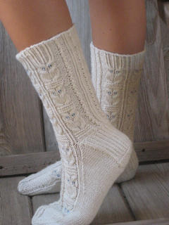 Owlie Socks by Julie Elswick Suchomel