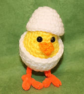 Sweet Chick in Egg