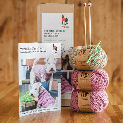 Dog Jumper Knitting Kit