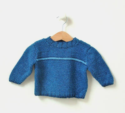 cotton summer baby sweater 0 - 3 years Flash Stripe