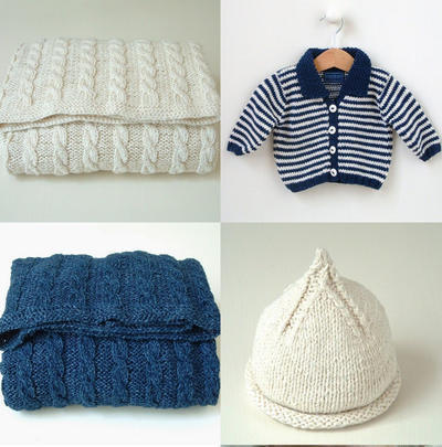 MULTI-BUY OFFER Nautical Bundle Offer - 3 baby knitting patterns