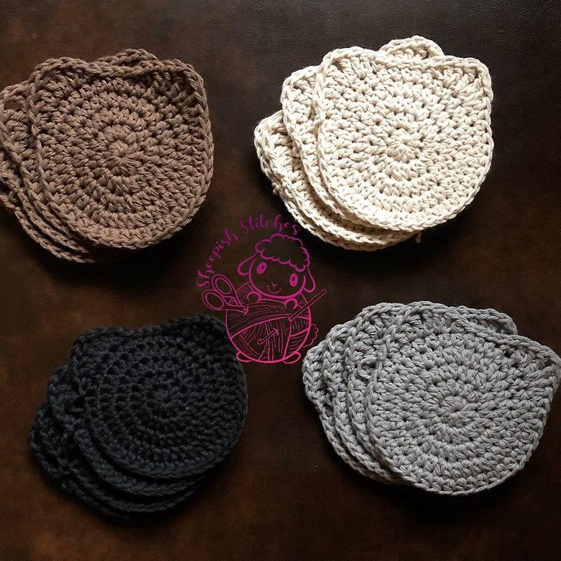 Kitty Coasters Crochet Pattern