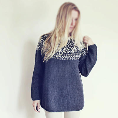 Knitting Pattern - Beautiful Norwegian Sweater
