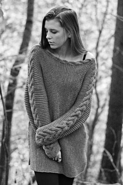 KNITTING PATTERN - River Braid Sweater
