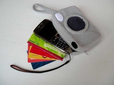 CAMERA PURSE - For cell phone / money / others