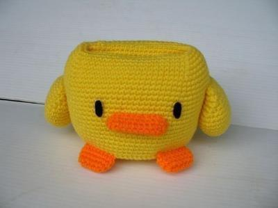 Crochet Pattern - Cell Phone Holder - DUCK
