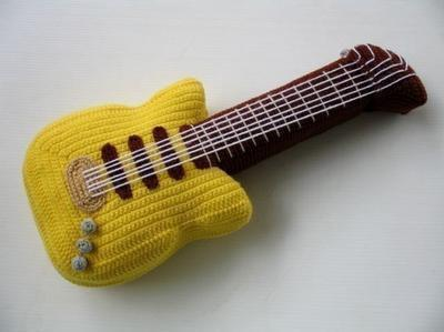 Crochet Pattern - ELECTRIC GUITAR
