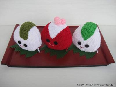 Crochet Pattern - ONIGIRI purse