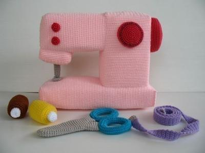 Crochet Pattern - SEWING MACHINE