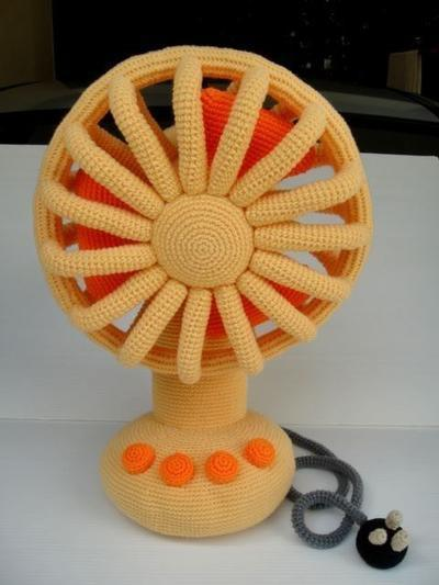 Crochet Pattern - VINTAGE FAN