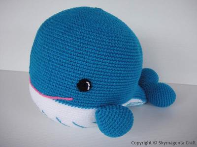Crochet Pattern - WHALE