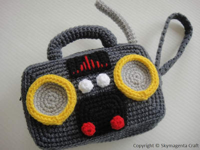 RADIO PURSE - For cell phone / money / others