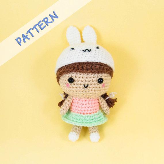 Bunny Girl Doll Pattern