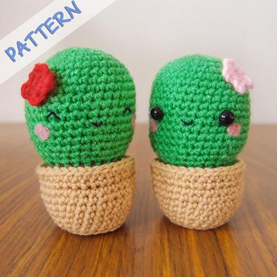 Crochet Cactus Amigurumi Pattern (PDF)
