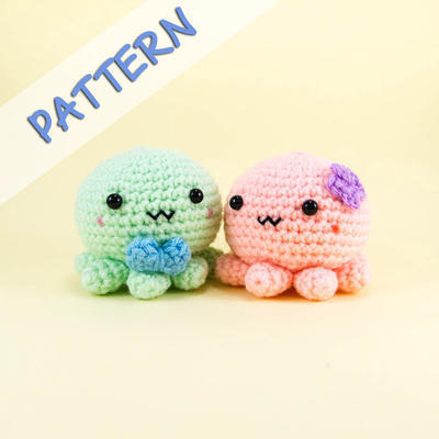 Octopus Couple Amigurumi Pattern