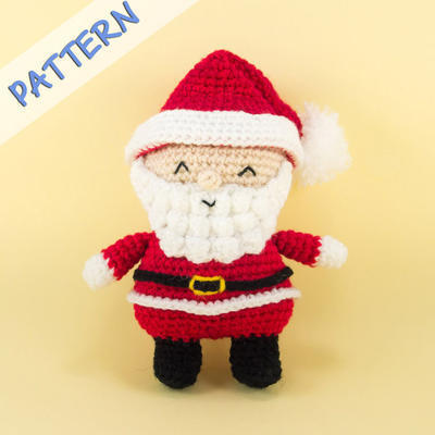 Santa Claus Amigurumi Crochet Pattern